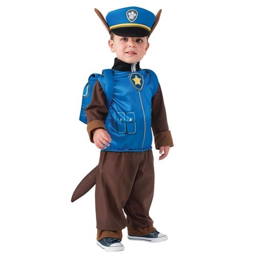 Image of   Paw Patrol Udklædning - Chase - S