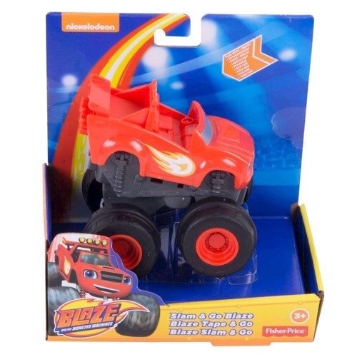Image of Blaze & Monstermaskinerne Go Speeder-Red (0887961065947)