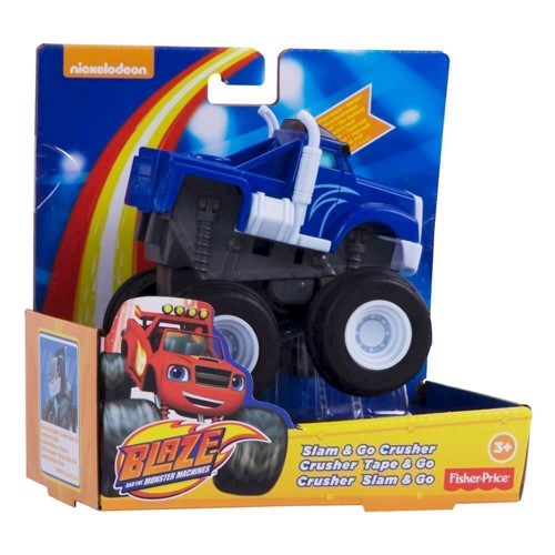Image of Blaze & Monstermaskinerne Go Speeder-Blue (0887961065954)