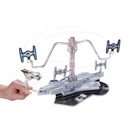 Image of   Hot Wheels Starship sæt Tie Fighter Blast Out Battle