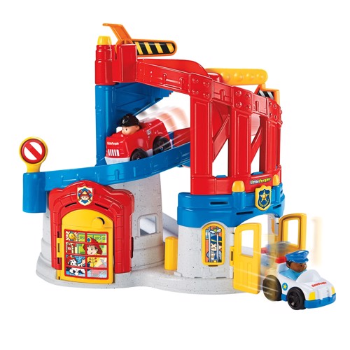 Image of   Fisher Price Little People Wheelies Centre