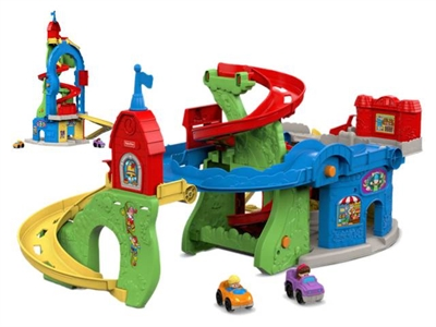 Image of   Fisher Price Little People stor bilbane