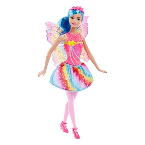 Image of   Barbie dukke, eventyrs feen Rainbow