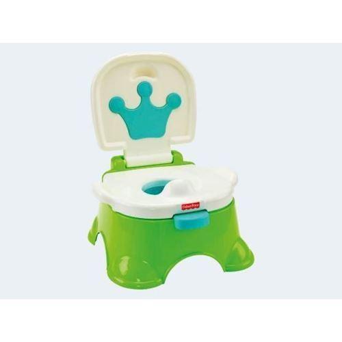 Image of   Fisher Price Royal potte grøn