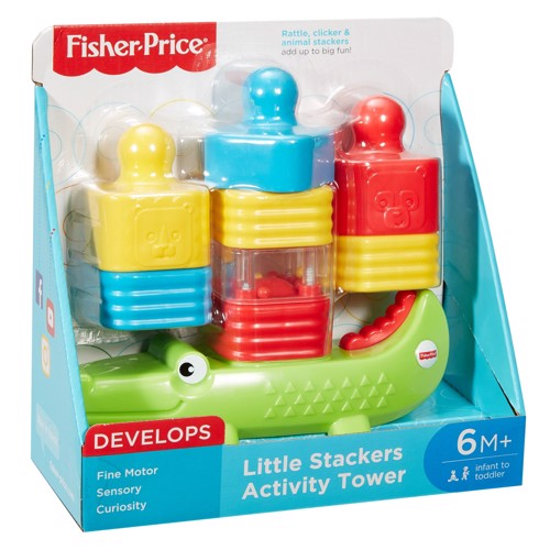 Image of   Fisher Price Little Stacking Tower
