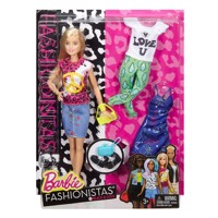 Barbie Fashionistas Peace Dukke