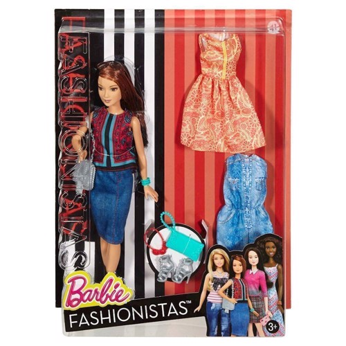 Image of   Barbie Barbie dukke, Pretty in Paisley
