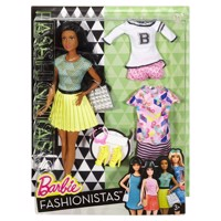 Barbie Fashionistas Fabulous Barbie dukke