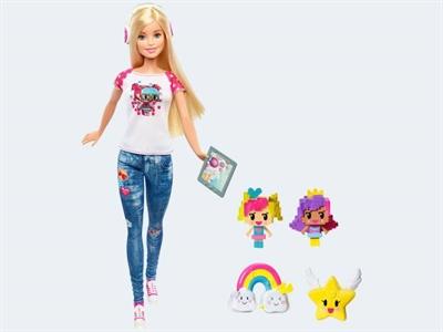 Image of   Barbie dukke, DTV96 videospil heltinde