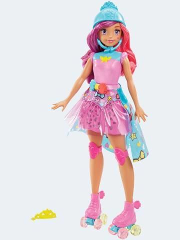 Image of   Barbie dukke, DTW00 videospil heltinde med lys