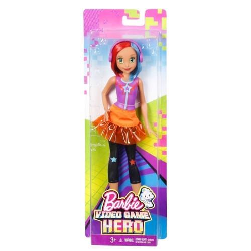 Image of   Barbie dukke, Video Game Hero barbie