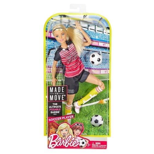 Image of   Barbie dukke, Made to Move - Professionel Fodboldspiller