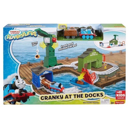 Image of Fisher Price - Thomas Tog - Havn, legesæt (0887961374223)