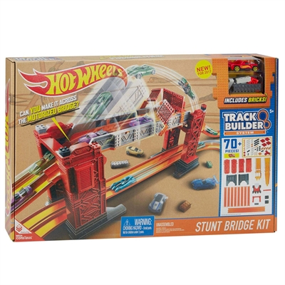 Image of   Hot Wheels DWW97 Track Bridge / bro Stunt Kit