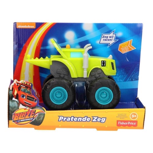 Image of Fisher Price Nickelodeon Blaze and the Monster wheels bil (0887961392159)