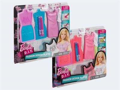 Image of   Barbie Dukketøj, DYV66 Mode mønster sæt