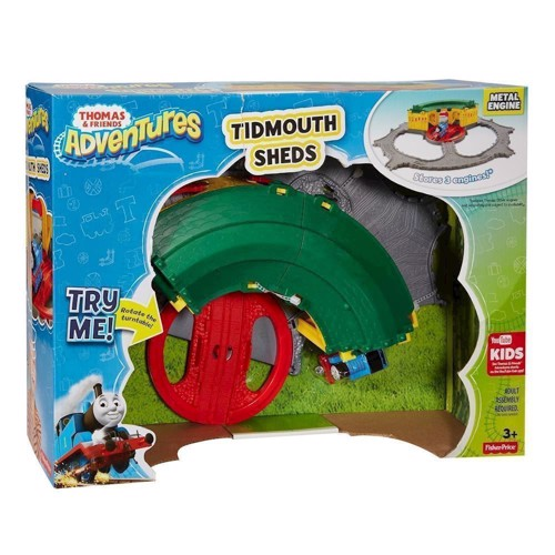 Image of Thomas Tog Adventures Deluxe Tidmouth Station - legesæt (0887961427929)
