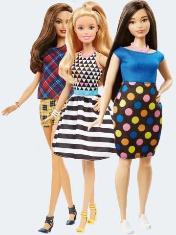 Image of   Barbie dukke, FBR37 Fashionistas dukke