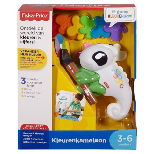 Image of Fisher Price Learning and Thinking Smart Scan Color Chameleon