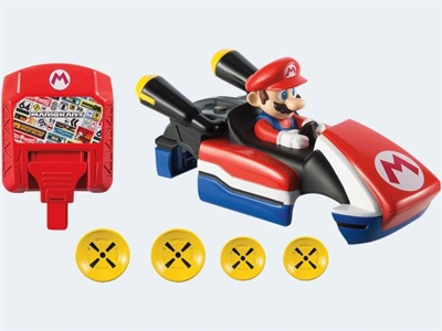 Image of   Hot Wheels ffl31 Ai Mario Kart chassis og controller