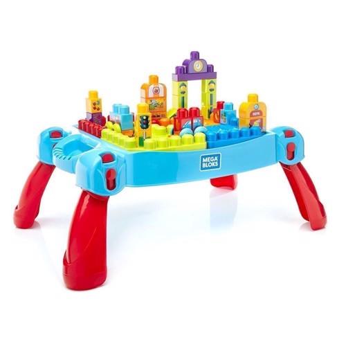Mega Bloks - Legebord, blå, 30 dele
