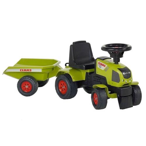 Image of Falk Claas Axos 310 Traktor Med Trailer. Pedaltraktor