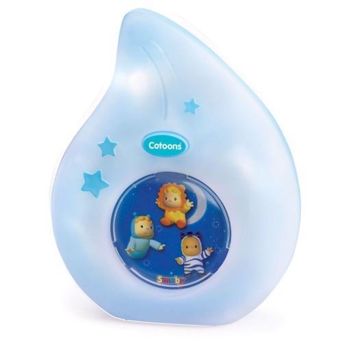 Image of   Smoby Cotoons nat lampe, pink eller blå