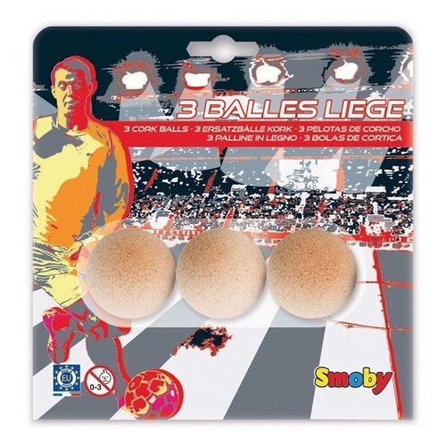 Image of   Smoby, 3 kork fodbolde