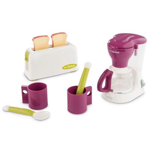 Image of Smoby Tefal morgenmadssæt med 2 maskiner og kopper