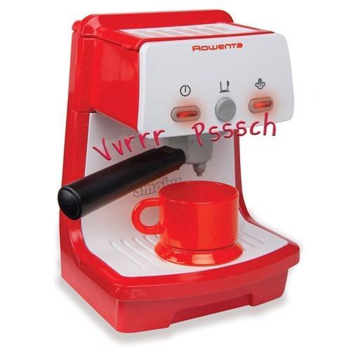 Image of Smoby - Legetøj, Rowenta Espresso Maskine