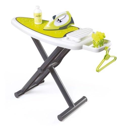 Image of Smoby legetøjs strygebræt med stygejern (3032163301042)