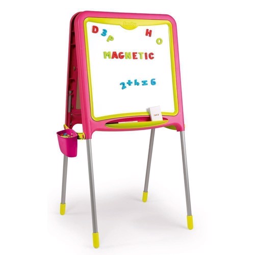 Image of   Smoby - Magnetisk skoletavle - Pink