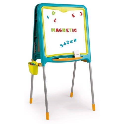 Image of   Smoby - Magnetisk skoletavle - blå