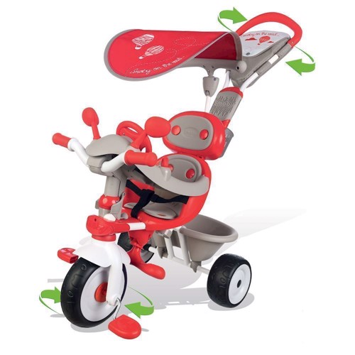 Image of   Smoby Baby Trehjulet cykel rød