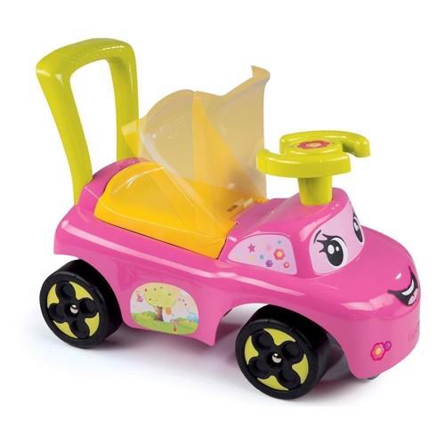 Image of   Smoby gå bil Pink