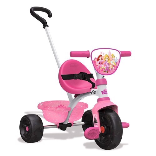 Image of   Smoby trehjulet cykel, Disney Princess
