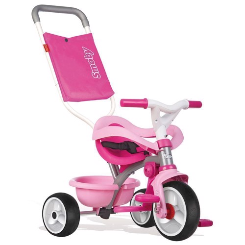 Image of   Smoby - Be Move Comfort Trehjulet cykel 3i1, pink