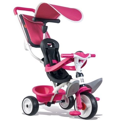 Image of   Smoby - Trehjulet Cykel Pink