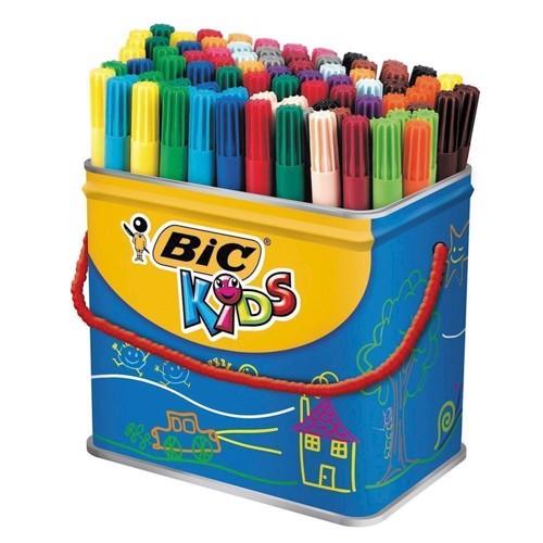 Image of   BIC - Kids, Tusser/tuscher, Visa, 84 stk