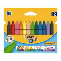 BIC - Kids Farvekridt, Triangle Color, 12 stk.