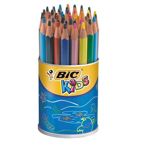 Image of   BIC - Kids, Farveblyanter, ECOlutions Kids Evolution Triangle, 48 stk