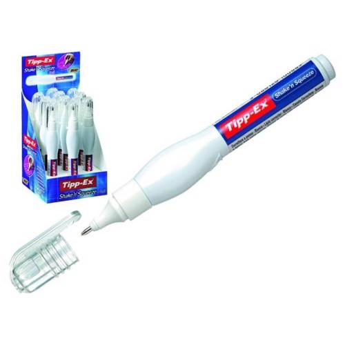 Image of   BIC - TippEx Shake n Squeeze slettelak pen