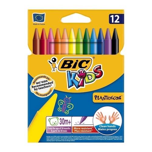 Image of   BIC - Kids Farvekridt, 12 stk