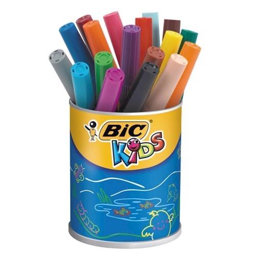 Image of   BIC - Kids, Tusser,tuscher - Visacolor XL, 12 stk
