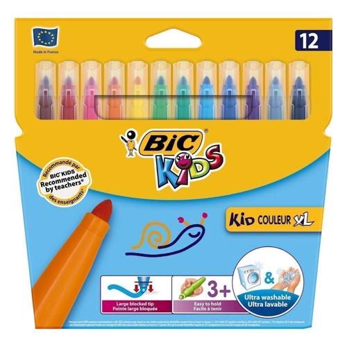 Image of BIC - Kids, Tusser/tuscher, XL, 12 stk