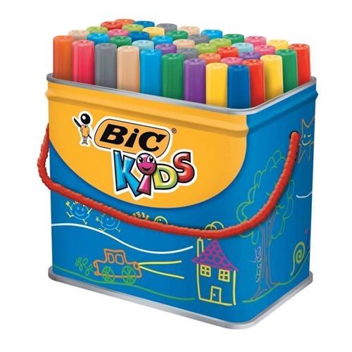 Image of   BIC - Kids, Tusser/tuscher, Visacolor XL, 48 stk.
