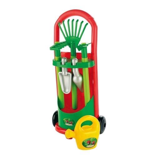 Image of Ecoiffier Trolley med have redskaber (3280250003397)