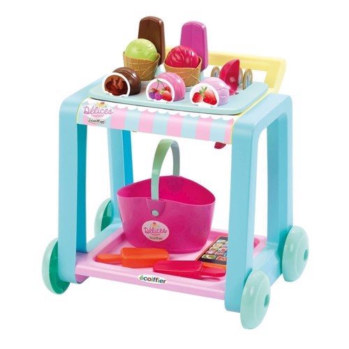 Image of Ecoiffier Ice Cream Trolley (3280250003625)