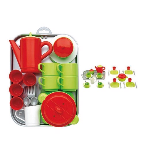 Image of Ecoiffier 100% Chef tea and Dinerset (3280250009726)