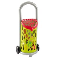 Ecoiffier 100% Chef shopping basket on Wheels